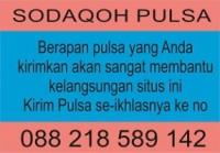 Donasi Pulsa